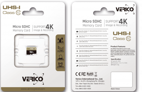 фото товара Verico MicroSDHC 32GB UHS-I (Class 10) (card only)