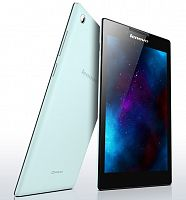 "фото товара Планшет Lenovo TAB2 A7-30HC (59436549) Blue 7"", IPS, Quad Core, 1.3Ghz,1Gb/8Gb, 802.11 b/g/n, GPS, 0.3MP/2MP, Android 4.4,"