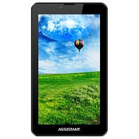 "фото товара Планшет Assistant АP-727G Black 7"", IPS, Quad Core, 1.3Ghz,1Gb/8Gb, 802.11 b/g/n, GPS, 0.3MP/2MP, Android 7.0,"